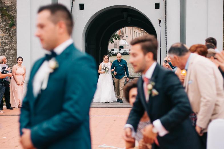 Romantično vjenčanje na otvorenom!
